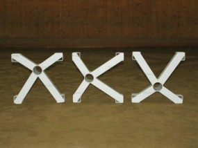Cavaletti Kreuz weiß